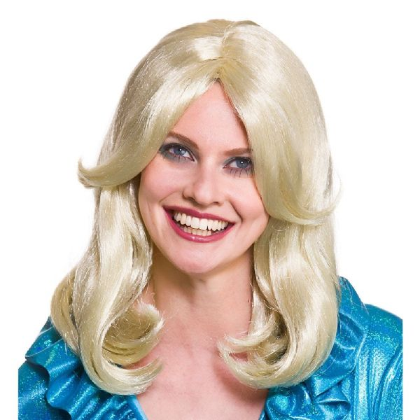 70's Glamour Wig Accessory Fancy Dress